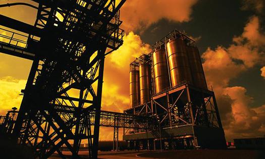 پالایشگاه های گاز یا کارخانه های شیمیایی